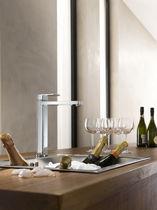 Brass mixer tap / kitchen / 1-hole