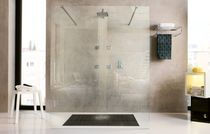 Recessed wall shower set / contemporary / with fixed shower head