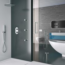 Shower mixer tap / bathtub / wall-mounted / built-in