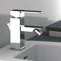 Bidet mixer tap / chromed metal / bathroom / 1-hole