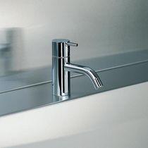 Washbasin mixer tap / brass / stainless steel / bathroom