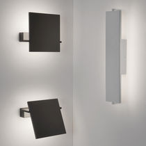 Contemporary wall light / rectangular / square / metal