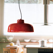 Pendant lamp / contemporary / aluminum / steel