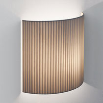 Contemporary wall light / metal / fabric / cardboard