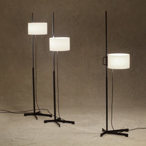 Floor-standing lamp / contemporary / metal / methacrylate