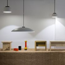 Pendant lamp / contemporary / ceramic / dimmable