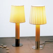 Table lamp / contemporary / bronze / nickel