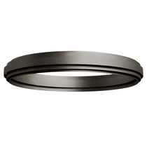 Contemporary ceiling light / round / aluminum / LED