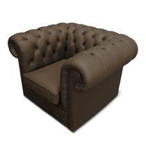 Club armchair / Chesterfield / polyurethane / outdoor