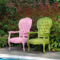New Baroque design armchair / polyurethane / outdoor