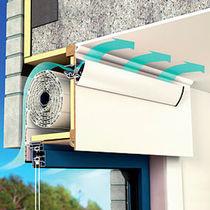 Waterproof window vent / acoustic / self-regulating / thermal break