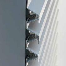Aluminum cladding / gypsum plaster / alloy / wire mesh