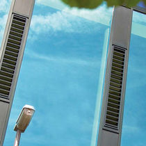 Aluminum ventilation grille / rectangular