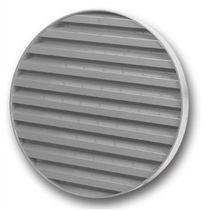 Aluminum ventilation grille / round