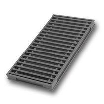 Aluminum ventilation grille / linear / for raised floors