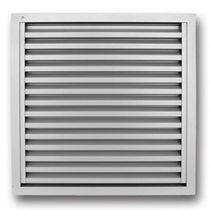 Aluminum ventilation grille / square