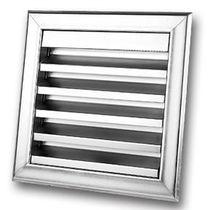 Steel ventilation grille / square