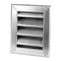 Stainless steel ventilation grille / rectangular