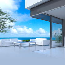 Roller blinds / fabric / outdoor