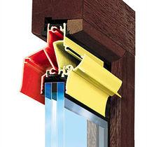 Waterproof window vent / thermal break