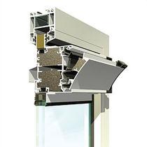 Acoustic window vent / thermal break