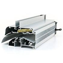 Acoustic window vent / self-regulating