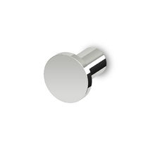 Contemporary coat hook / chrome / brass / for bathrooms