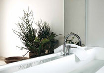 Washbasin mixer tap / brass / chrome / for bathrooms