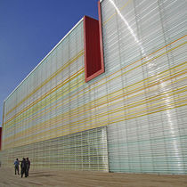 Polycarbonate cladding / grooved / tube