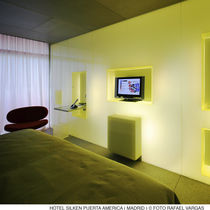 Interior fitting decorative panel / acrylic / LED / with indirect lighting