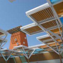 Polyethylene solar shading