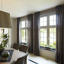 Casement window / sliding / PVC / double-glazed