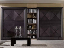 Traditional bookcase / walnut