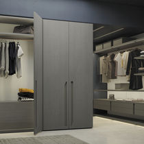 Modular wardrobe / contemporary / oak / melamine