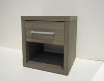 Hotel table / bedside / contemporary / wooden