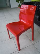 Contemporary chair / polypropylene / for hotels