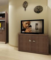 Hotel room TV cabinet / contemporary / wooden