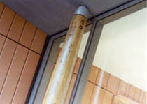 Wooden pillar / glulam