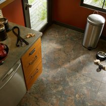 Vinyl flooring / commercial / residential / tile