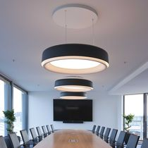 Pendant lamp / contemporary / glass / ABS