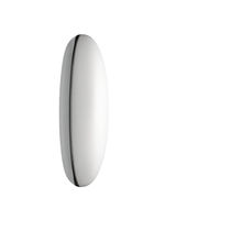 Contemporary wall light / steel / PMMA / LED