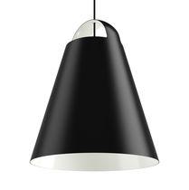 Pendant lamp / contemporary / painted aluminum / white
