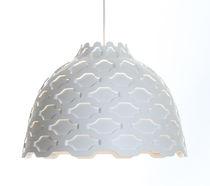 Pendant lamp / contemporary / aluminum / anodized aluminum
