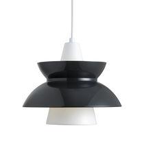 Pendant lamp / contemporary / brass