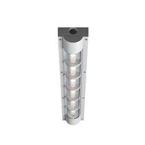 Surface-mounted light fixture / LED / rectangular / outdoor