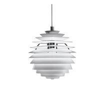 Pendant lamp / contemporary / aluminum / brass