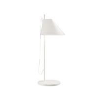 Table lamp / contemporary / cast aluminum / brass