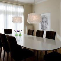 Pendant lamp / contemporary / acrylic / aluminum