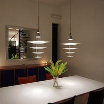 Pendant lamp / contemporary / aluminum / acrylic
