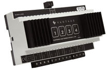 DIN rail control module / for home automation systems